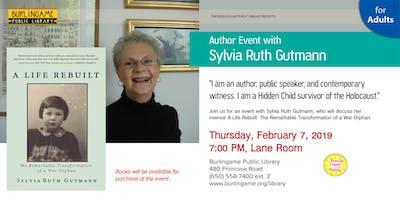 Author Event with Holocaust Survivor Sylvia Ruth Gutmann