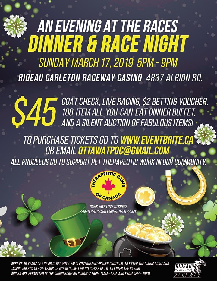 An Evening at the Races - Dinner & Race Night image