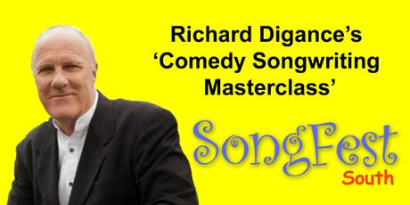 Richard Digance's 'Comedy Songwriting Masterclass' / SongFest (south)  tickets
