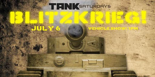 TANK SATURDAY: Blitzkrieg!