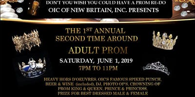 """Second Time Around \""""Adult Prom\"""""""