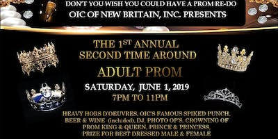 """Second Time Around """"Adult Prom"""""""