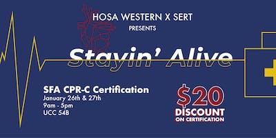 HOSA x SERT: Stayin\