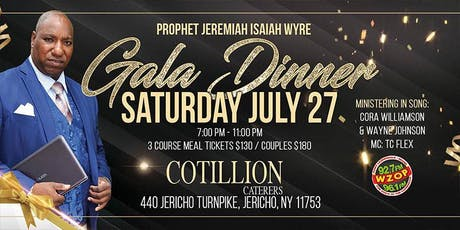 Gala Dinner tickets
