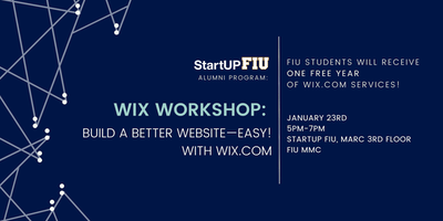Wix Workshop: Build a Better Website with Wix
