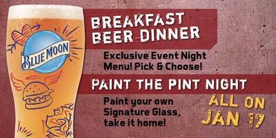 Beer Dinner & Paint Your Pint at Burger Warfare!