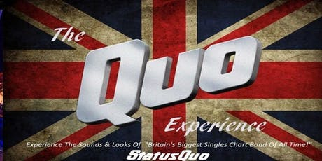 The Quo Experience Live 2019! tickets