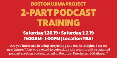 Ujima 2-Part Podcast Training With the Podcast Garage