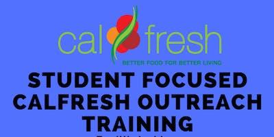 CalFresh Outreach Training - CSU Monterey Bay