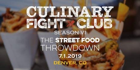 Culinary Fight Club - DENVER: Street Food Showdown tickets