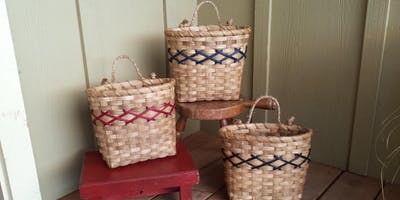 First Friday Art : Basket Weaving with Stephanie Zook