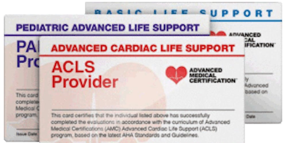 Aha Re Certification Of Aclsblspals Tickets Sat Mar 9 2019 At 2