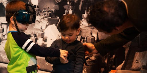 Family Time at BHS DUMBO – Storytelling: Design and make your own book