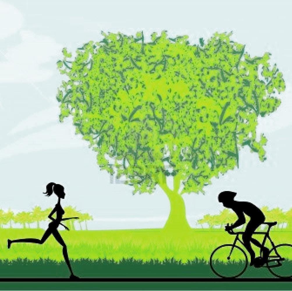 Running and Cycling yoga