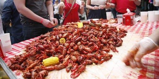 4月27日星期六下午2点到9点在国会大厦酒吧吃小龙虾节,信息/章节:346.404.5060