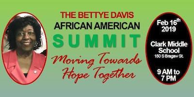 2019 Bettye Davis African American Summit