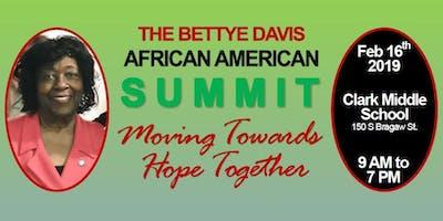 2019 Bettye Davis African American Summit - Breakfast Session ONLY