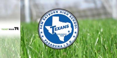Sam Rayburn vs Pasadena Varsity Soccer (Boys)