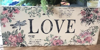 Wood DeSIGN - IOD Valentines Sign