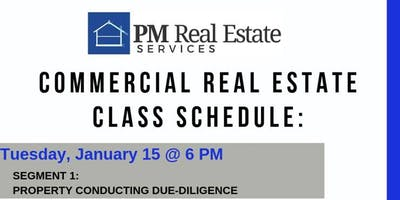 Commercial Real Estate Program: Segment 1 - Property Conducting Due-Diligence