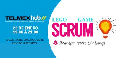 TELMEX HUB- Lego Scrum Game Transportetrix Challenge
