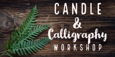 DIY Candle and Wood Sign Workshop at Nature's Kindle PDX
