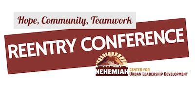 Hope, Community, Teamwork Reentry Conference
