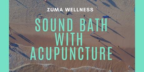 Sound Bath with Acupuncture  tickets
