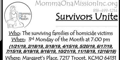 Survivors Unite - Monthly Group Meetings