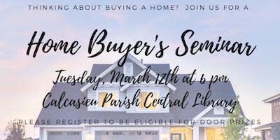 Home-buyer Seminar!