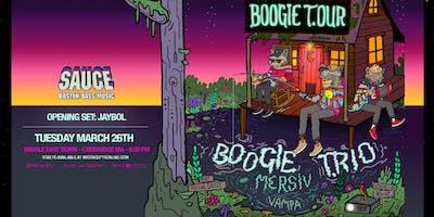 SAUCE Boston ft. BOOGIE T.RIO w/ Mersiv & Vampa @ Middle East | 3.26.19 | 18+