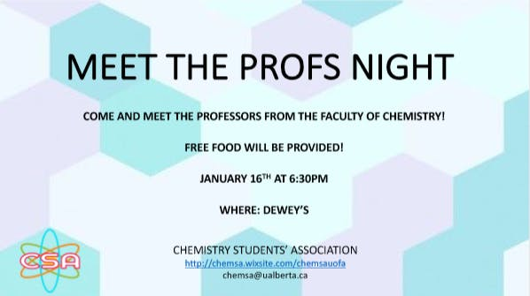 Meet the Profs' Night