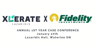 Xlerate x Fidelity Annual First Year Case Conference