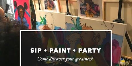ArtistPERIOD SIP, Paint & Party tickets