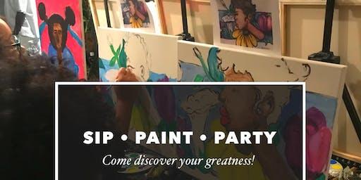 ArtistPERIOD SIP, Paint & Party