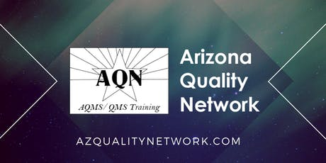 AZ Quality Network Meeting- Aug 2019 tickets