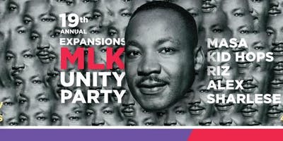 19th Annual Expansions MLK Unity Party