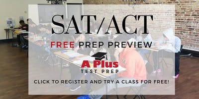 ACT / SAT Free Prep Preview. College Prep. January 19