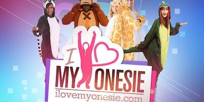 I Love My Onesie Day Party