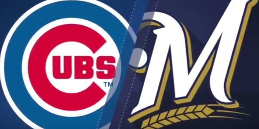 Brewers VS Cubs at Miller Park