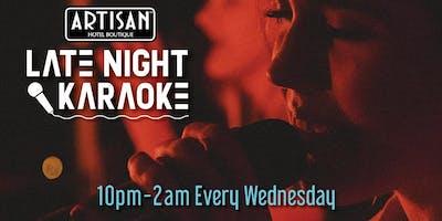 Late Night Karaoke