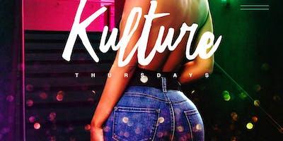 Kulture Afterwork Thursdays w/ 2-4-1 Happy Hour, C