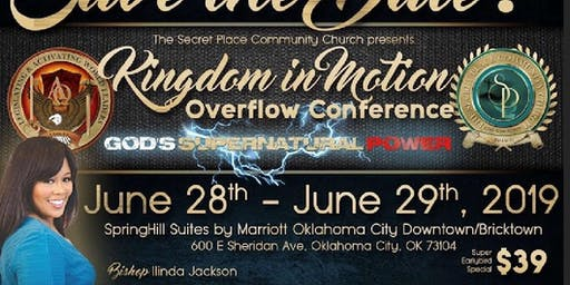 KINGDOM IN MOTION OVERFLOW CONFERENCE 2019