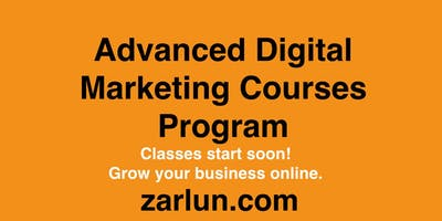 Advanced Online Marketing Courses Package Houston