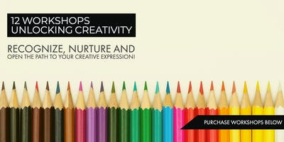 Unlocking Creativity  - 12 Workshops (Live)