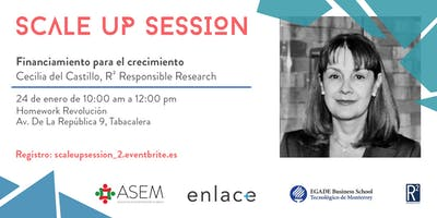 Scale up session: Financiamiento para el crecimiento