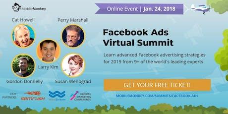 Facebook Ads Virtual Summit tickets