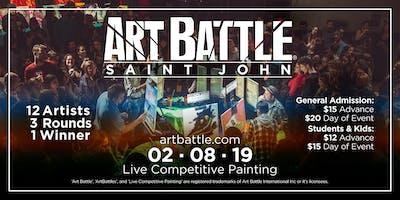Art Battle Saint John - February 8, 2019