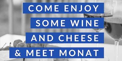 Wine & Cheese & Meet Monat