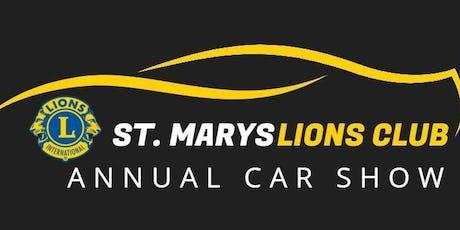 St. Marys Lions Club Car Show tickets